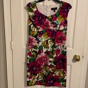 Floral multicolored dress